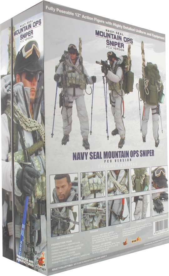 Navy Seal Mountain Ops Sniper (PCU)