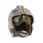 X-Wing Pilot Helmet with Mobile Visor (Grey)