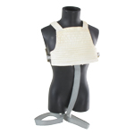 X-Wing Pilot Flak Vest with Harness (White)