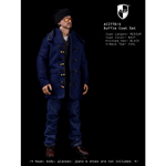 Medium Duffle Coat Set (Blue)