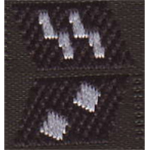 ss collar rank tabs oberscharfuhrer