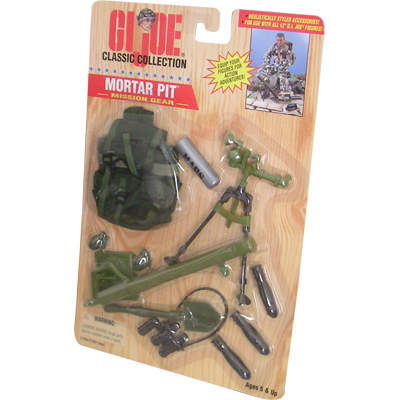 gi joe equipement mortier