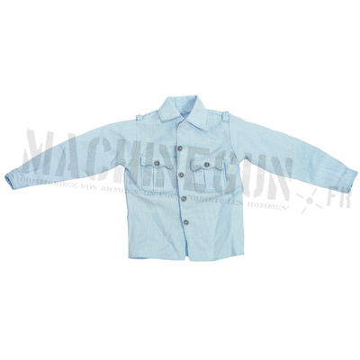 Officer blue shirt