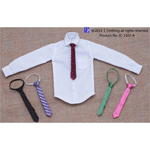Man's Tie With Shirt Set A