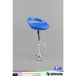 Bar Stool (Blue)
