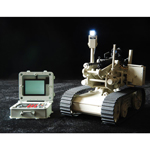 EOD Bomb Detection Robot with Controller