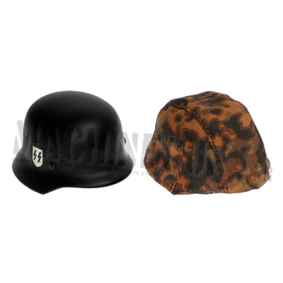 Elite M35 metal helmet + Oak Leaf Autumn Blur edge Camo cover