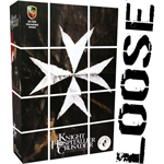 WARRIORS - KNIGHT HOSPITALLER BANNER HOLDER TOYS SOUL EXCLUSIVE (Aci)
