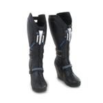 Female Reinforced Boots (Black)