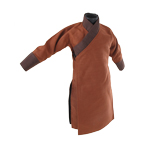 Yellow Turban Traditional Tunic (Brown)