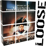 LOOSE French Field Artillery Gunner Of Napoleonic Wars (Deluxe Version)