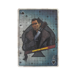 Spade 7 Harry Playing Card