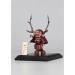 Series Of Empires - Diecast Black Buckhorn Moon Kabuto (Helmet Edition)