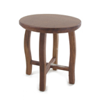 Wooden Stool (Brown)