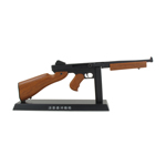 Diecast Thompson M1A1 Submachinegun (Black)