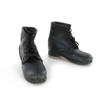 German combat low boots