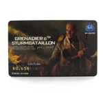 Lutz Fedder Grenadier Special Edition Collector Card (Brown)