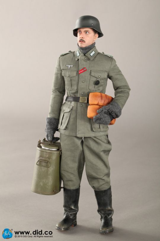 WWII German Army Supply Duty - Hans (Normal Eyes Version)