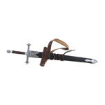 Diecast Paladin Sword with Scabbard (Black)