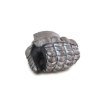 Armored Gloved Left Hand (Silver)
