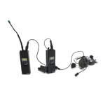 PRC-148 Radios with Comtac3 Headset Dual Mic (Black)