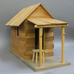 Wooden House (Beige)