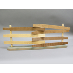 Wooden Barrier (Beige)