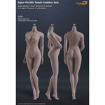 Super Flexible Female Seamless Body with Stainless Steel Skeleton in Suntan (Large Breast Size)