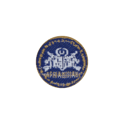 SF CJSOTF Afghanistan Round Patch 2 (Blue)