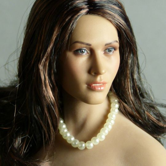 Pearl Single Loop Necklace (White)