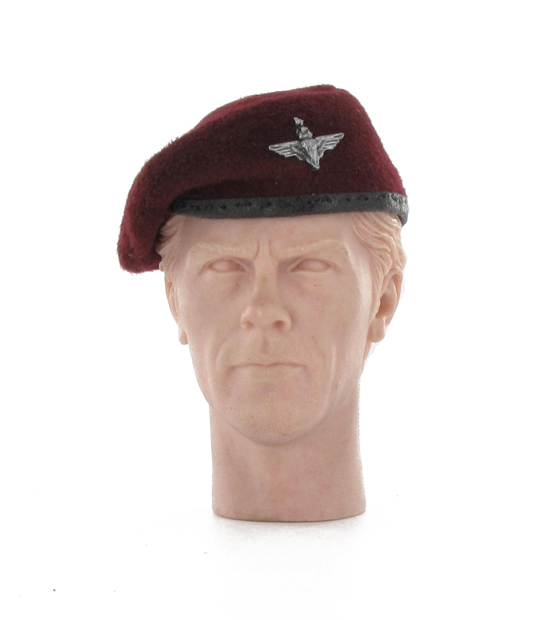 British parachutiste red beret