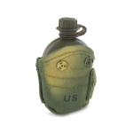 1QT Canteen  with Pouch (Camo)