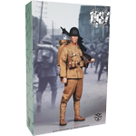 Japanese Army - Taisho Eleven Crooked Handle Gunner Songhu Battle 1937