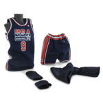 Michael Jordan Basketball set (USA Team Away Kit)