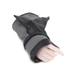 Caucasian Female Right Hand with Protection (Grey)