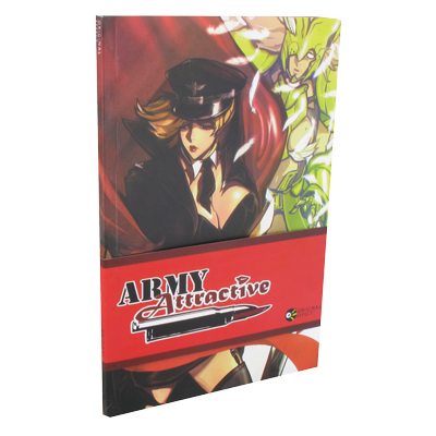 Army Attractive Comic Book