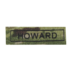 HOWARD name patch