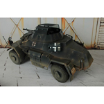 Sdkfz 222 (Three colors camo)