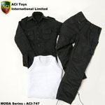 Cargo Clothes Set (Black)
