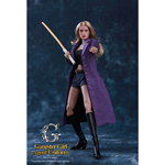 Gangster Girl Agent Uniform Set (Purple)