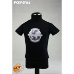 Fashionable Male T-shirt Type A (Black)