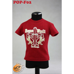 Fashionable Male T-shirt Type B (Red)