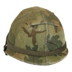 M1 Helmet with Cover (Mitchell)