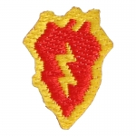 25th Infantry Division Patch (Red)