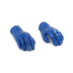 Gloved Hands (Blue)