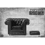 British Single Sofa (Black)