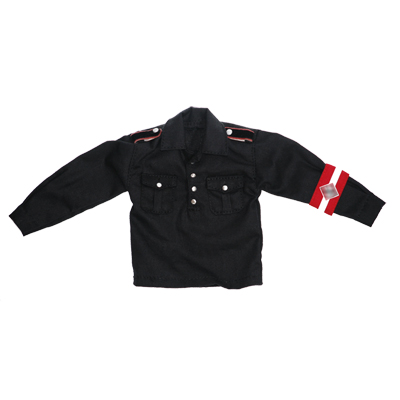 Black jacket with armband