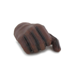 Gloved Right Hand (Brown)