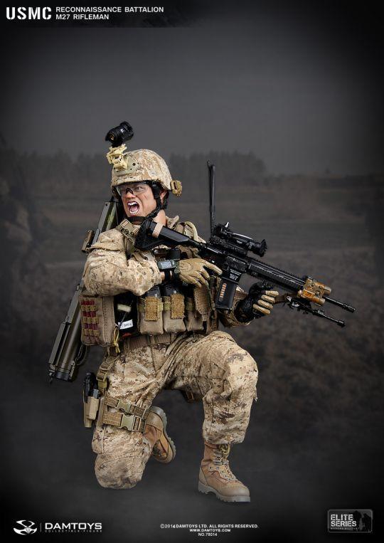 USMC Reconaissance Battalion M27 Rifleman