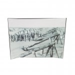 Normandie Beach Diorama Background (Grey)